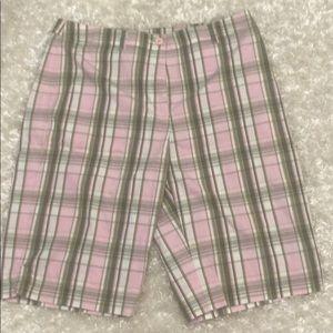 🥰 AK Anne Klein Sport Plaid Shorts